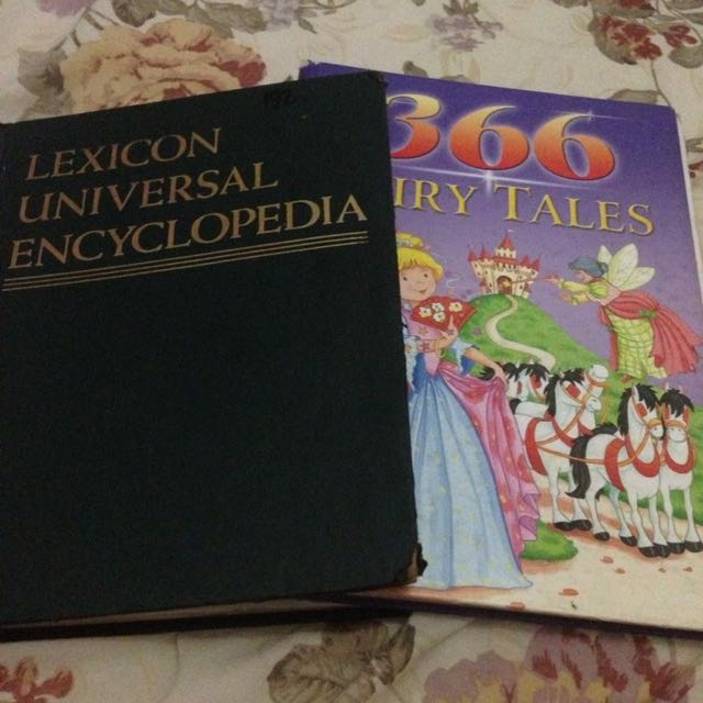 Buku Encyclopedia Dan 366 Fairytales Collection