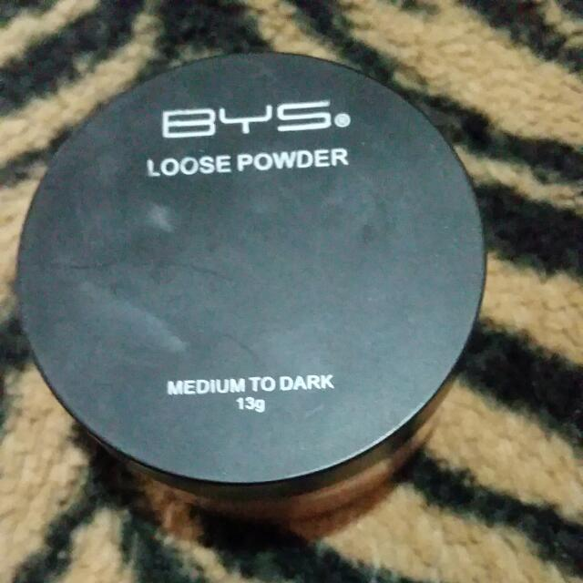BYS loose Powder medium to dark