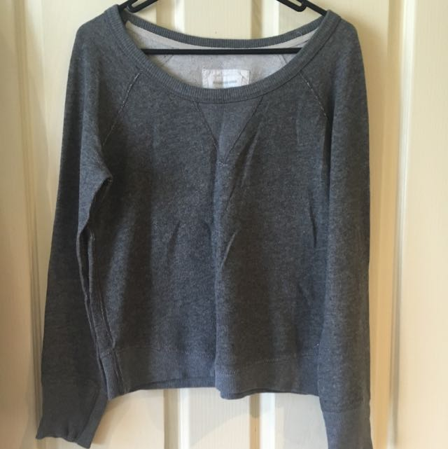Country Road Grey Jumper Size Small