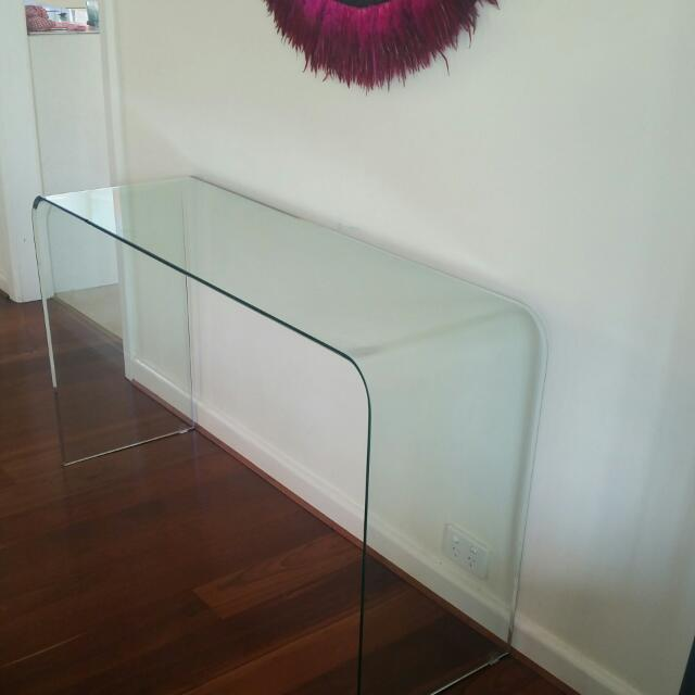 Glass HALL TABLE
