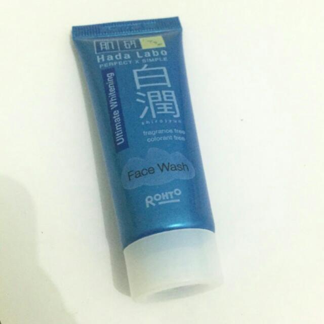 Hada Labo Shirojyun Ultimate Whitening Facewash 20g