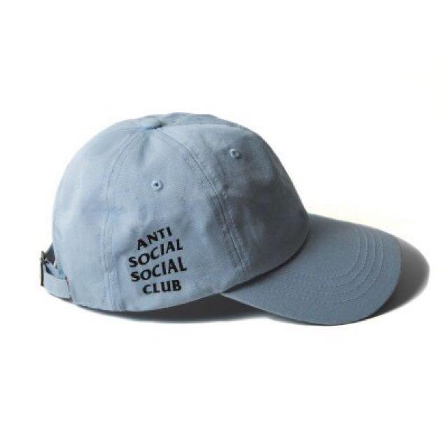 41e6398b3142 INSTOCK Baby Blue Get Weird Assc Anti Social Social Club Unisex ...