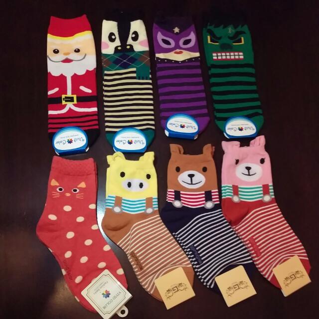 Korea Made Cute Socks