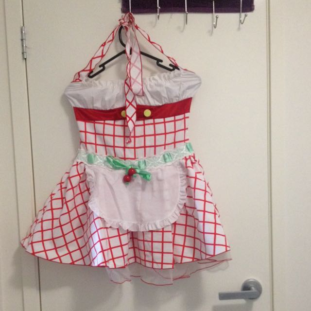 Leg Avenue Costume Strawberry Shortcake Size S-M