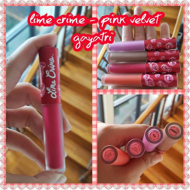 Lime Crime - Pink Velvet