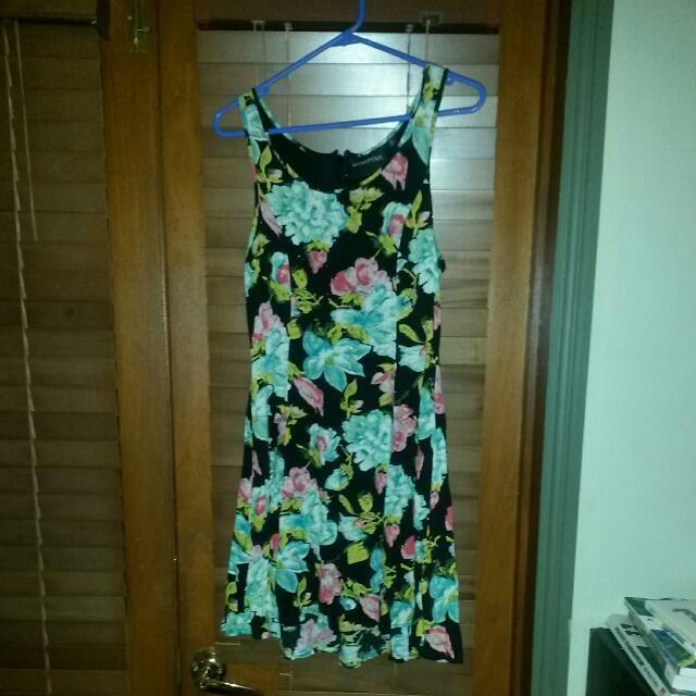 M Floral Skater Dress