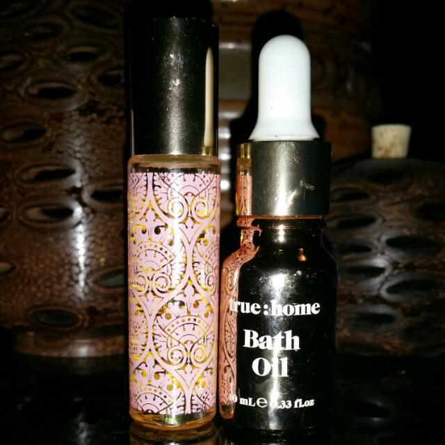 MOR Marshmallow Roll On Perfume + Bath Oil