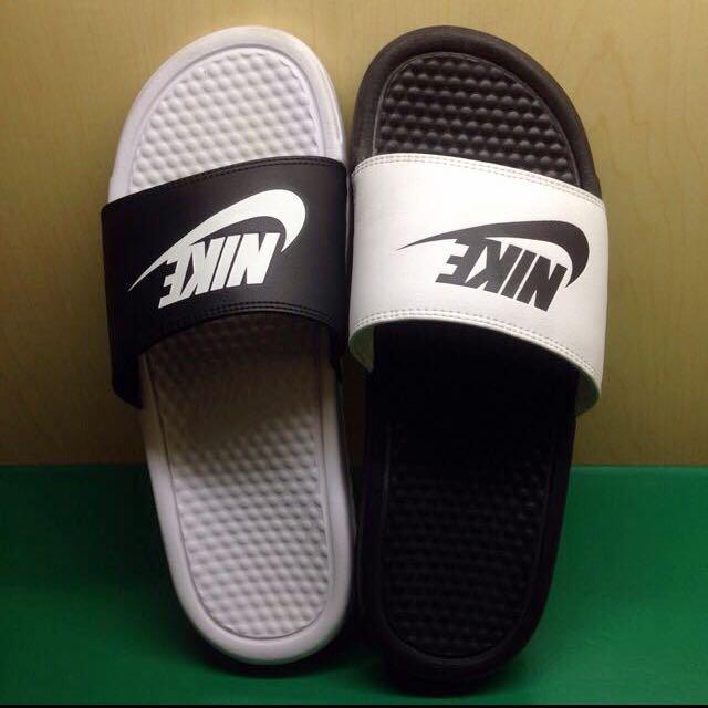 Nike拖鞋 陰陽