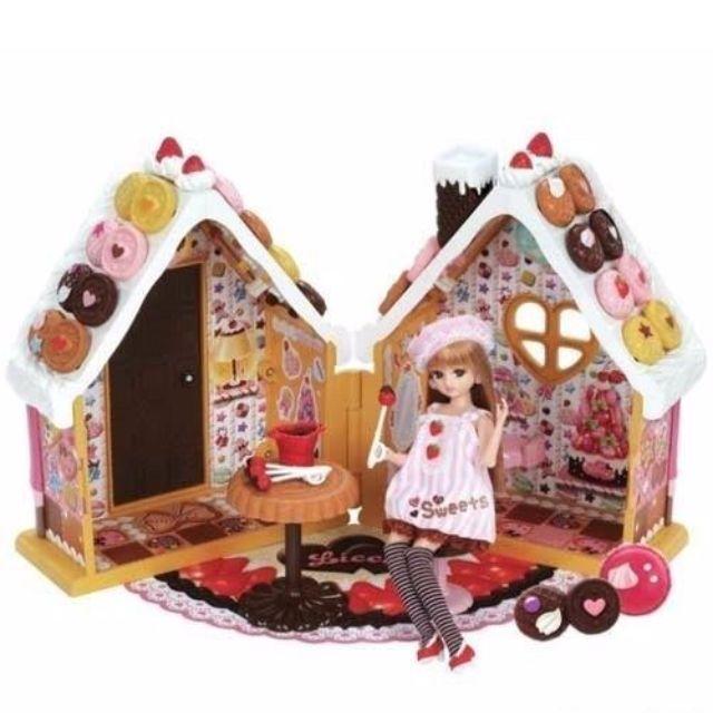 [Pre-order] Takara Tomy Licca chan Gingerbread House Playset