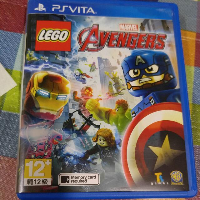 Ps Vita Marvel Lego Avengers