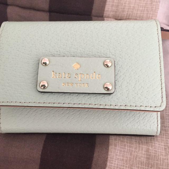 Kate Spade Cedar Street Darla wallet - mint green