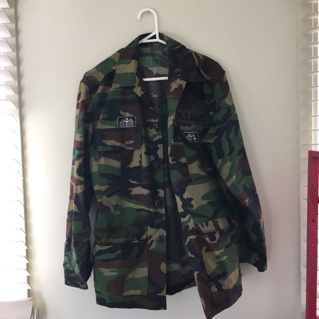 S10 - Vintage Lightweight Army Jacket