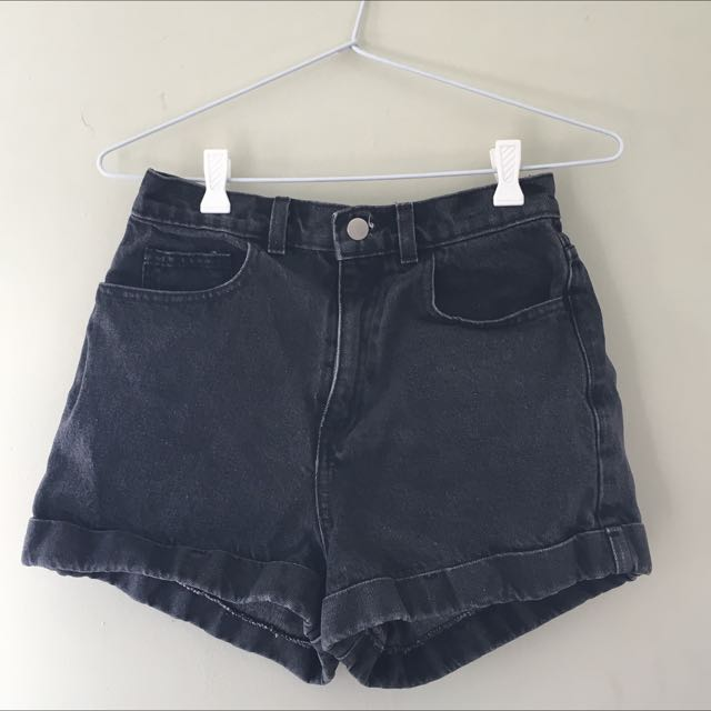 S8 - AMERICAN APPAREL Denim Shorts