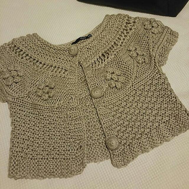 Seduce Cropped Shrug/ Jacket Size 10. Perfect For Winter #1212sale