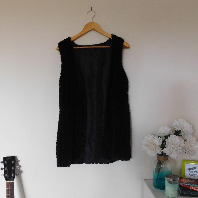 Soft Black Vest