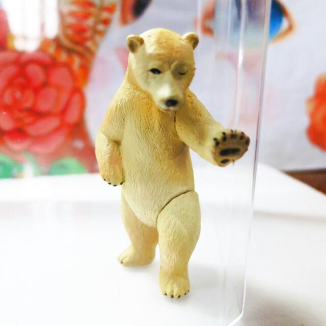 T-arts扭蛋 壁咚!動物們 北極熊
