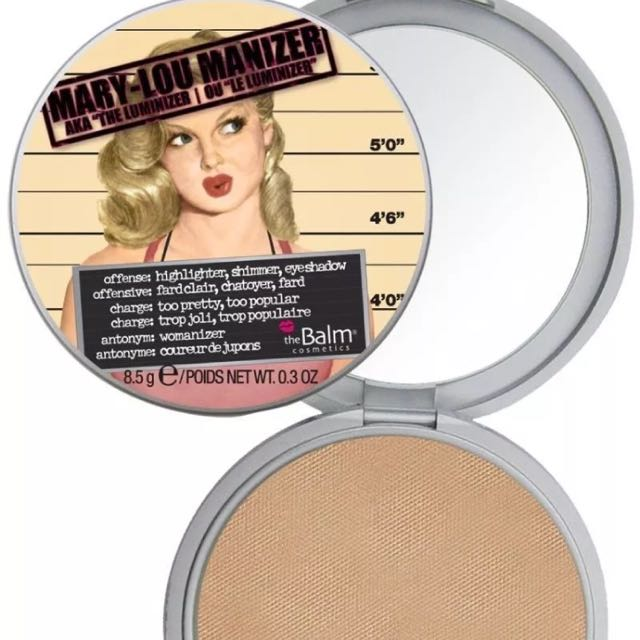 The Balm Mary-Lou And Betty-Lou Manizer Highlighter