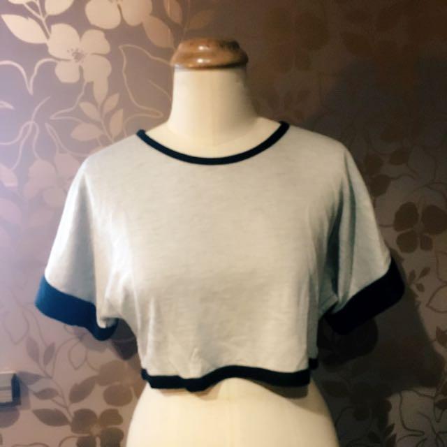 「泉TRAN」短版寬袖上衣
