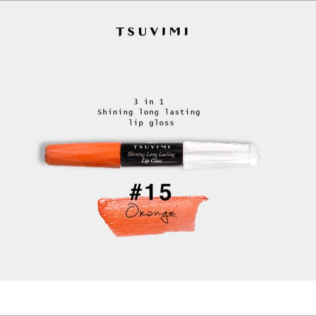 Tsuvimi 不沾杯持久唇彩 #15 Orange