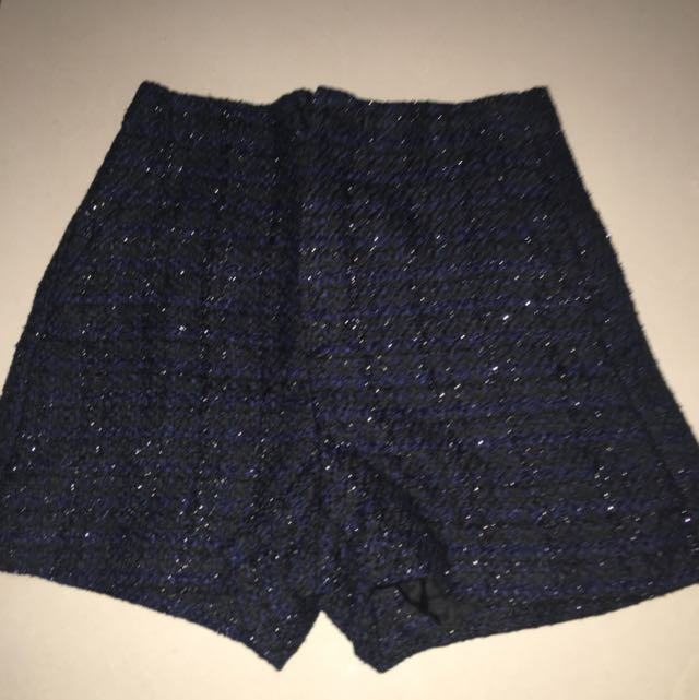 Uniqlo tweed short