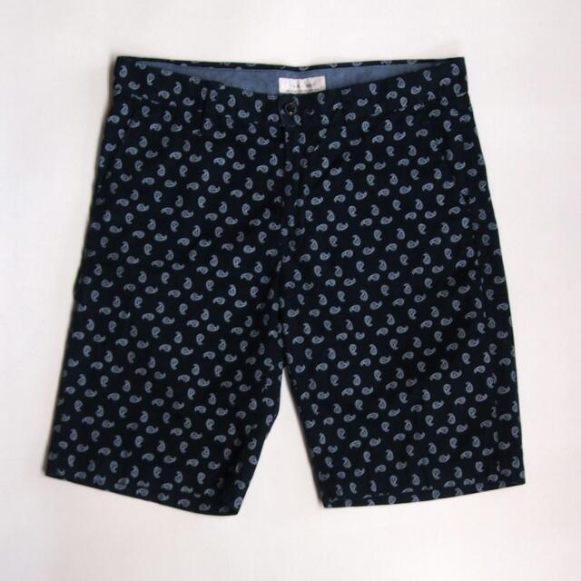Zara Paisley Print Shorts