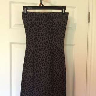 Snug Leopard Spot Dress