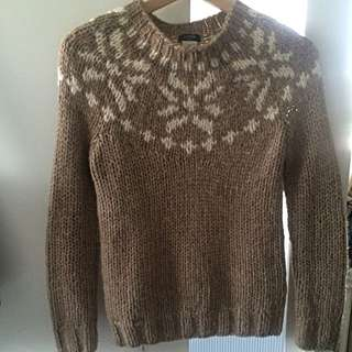 Jcrew Handknit Sweater