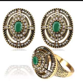 Earings And Ring Set(fixed Price)