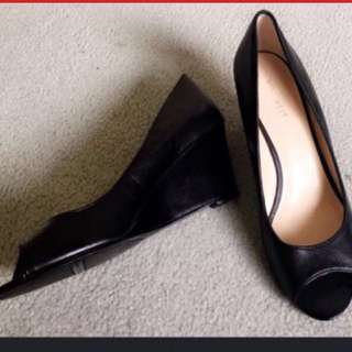 Black Wedges Nine West - Price Lowered!