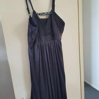 DREAM DIVA BLACK COCKTAIL DRESS SIZE 20