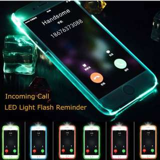 Led Flashlight Case Cover iPhone 5 5s 6 6plus 6s