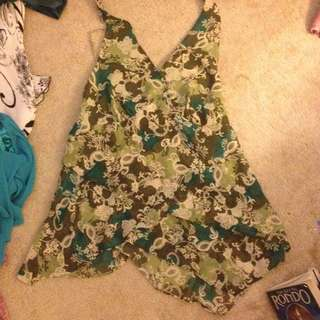 fancy halter top/ Lane Bryant