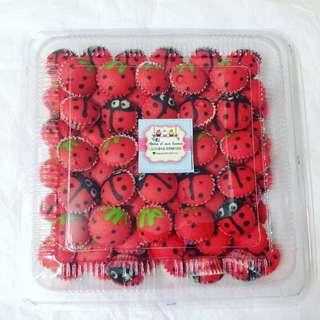 Apam Ladybird 🐞🐞+strawberry 🍓🍓