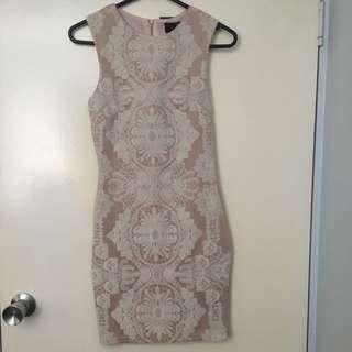 Bodycon Dress Dusty Pink