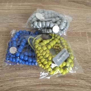 Eb & Ive, 3x Multi Pack Of Bracelets Brand New In Packaging
