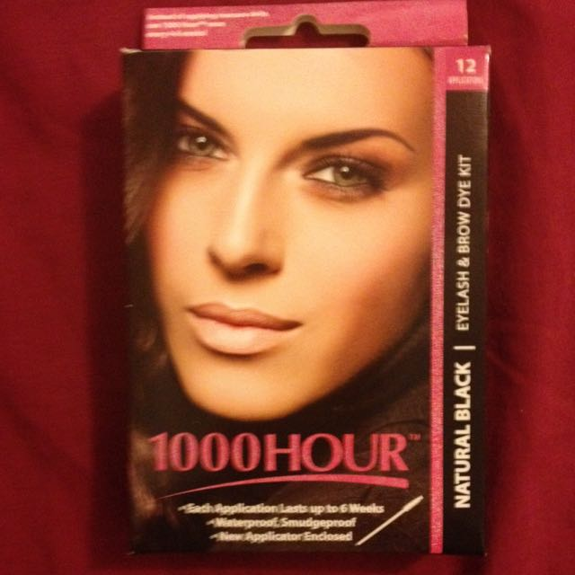 1000 Hour Eyelash And Brow Dye Kit