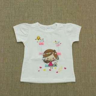 Kids Tee - Girls (Turkish Cotton) 1 - 4 Years