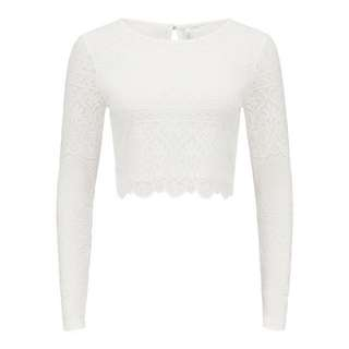 Forever New Lace Crop Top