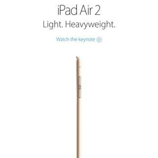 Ipad Air 2 - New In Box Sealed