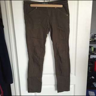 Cargo Green Roots Pants
