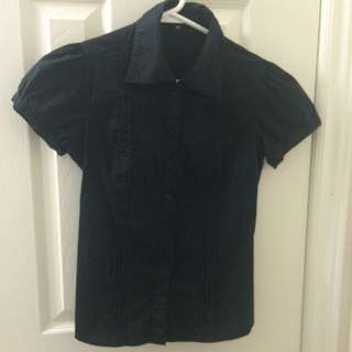 Black Button-up Shirt