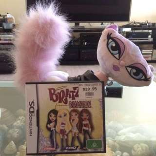 Bratz forever Diamondz DS game and Plush