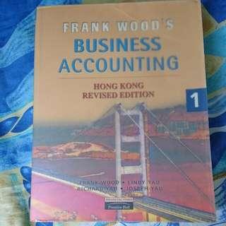(搬屋)Frank Wood's Business Accounting