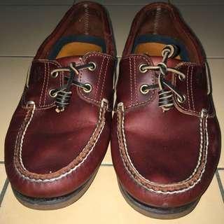 Timberland 雙眼帆船鞋 皮鞋