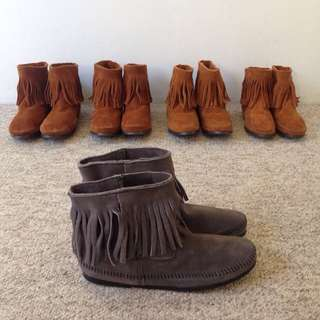 Minnetonka®New Quality Leather Boots