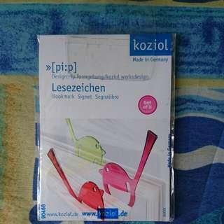 (搬屋)Koziol Bird Shapped Bookmark(Made In GERMANY)