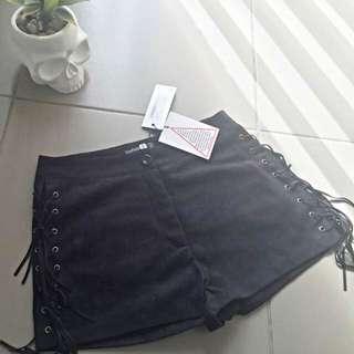 Size 10 Boohoo Tassel Shorts