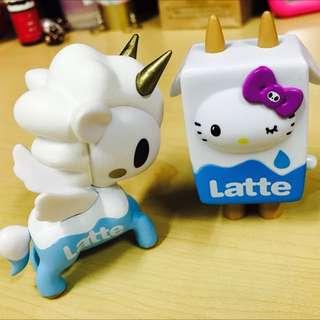 Tokidoki Hello kitty Unicorno Latte
