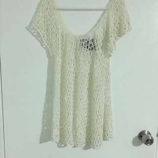 Cassette Society Crochet Dress