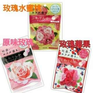 日本Kracie玫瑰軟糖